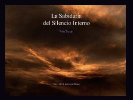La Sabiduría Del Silencio