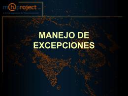 5.0-Excepciones