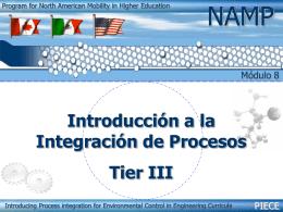 Introducción a la Integración de Procesos Tier III