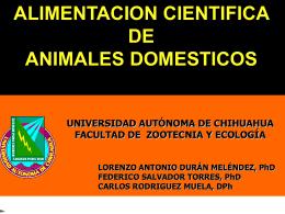 alimentación científica - Universidad Autónoma de Chihuahua