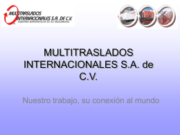 Multitranslados Internacionales
