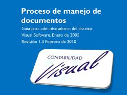 Proceso de manejo de documentos