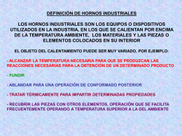Leccion10.Hornos.INTRODUCCION