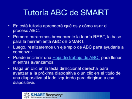SMART Recovery ABC Tutorial