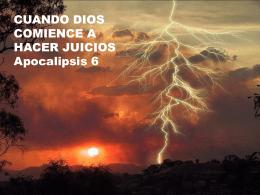 20140406 cuando Dios comience a hacer juicios
