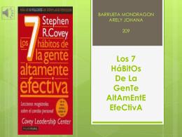 Los 7 HáBitOs De La GenTe AltAmEntE EfeCtivA - HABITOS