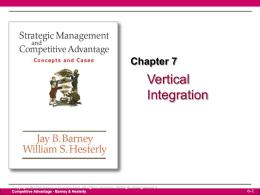 Diversificacion - Estrategia de Negocios I