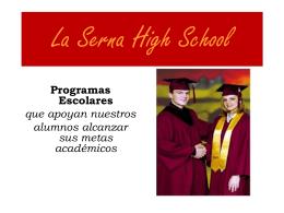 ELAC LS programas