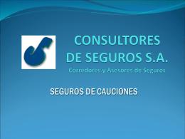 CONSULTORES DE SEGUROS S.A.