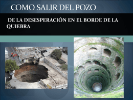 COMO SALIR DEL POZO DE LA DESESPERACION EN EL BORDE