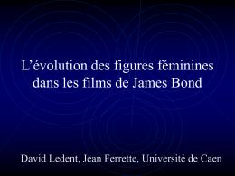 L`évolution des figures féminines dans les films de James Bond