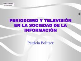 Rol de los Periodistas en el Futuro de la TV