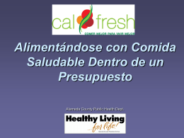 Respuesta - Healthy Living...for life!