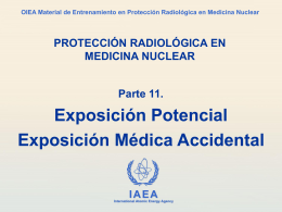 11. Exposición Potencial - Radiation Protection of Patients