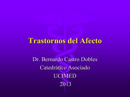Trastornos del Afecto, TAG, T. Imp 2013