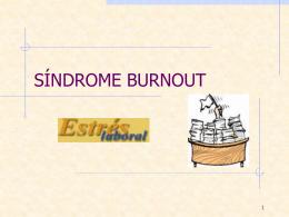 Síndrome del quemado