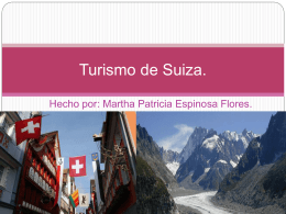 Turismo de Suiza