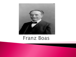 Franz Boas - DSpace at Universia