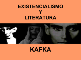 Kafka y el existencialismo ( presentación )