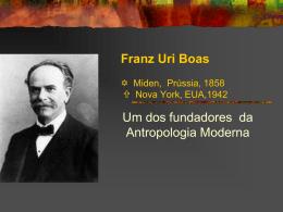 Franz Boas - Acadêmico de Direito da FGV