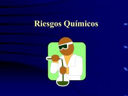 Riesgos Químicos - Higiene Ocupacional