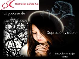 El proceso del duelo Depresión y duelo