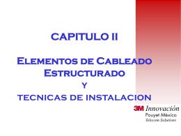Cableado Estructurado - CECyT 4 - Instalaciones y Mantenimiento