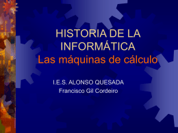 Diapositiva 1 - Biblioteca virtual del IES Alonso Quesada