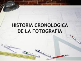 HISTORIA CRONOLOGICA DE LA FOTOGRAFIA Camara Oscura