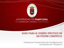 Ver documento diseño Póster de investigación en PPT.