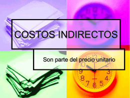costo indirecto