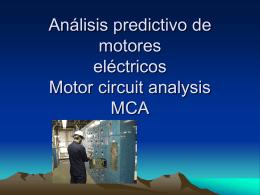 Análisis predictivo de motores eléctricos