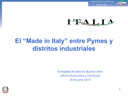 "El ""Made in Italy"""