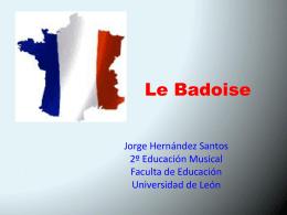 La Badoise Bearn - Danzas del mundo