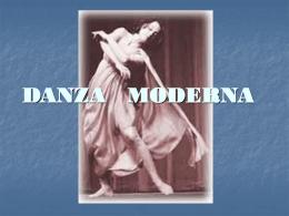 la historia de la Danza Moderna
