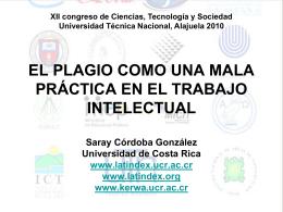 Presentacion _CIENTEC_Saray - Portal de revistas académicas