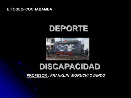 DEPORTE Y DISCAPACIDAD - DEPORTIVAESPECIAL.org