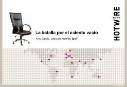 Batalla por el sillón vacío
