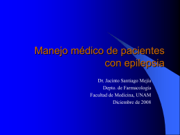 Manejo médico de pacientes con epilepsia