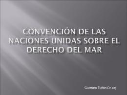 CONVEMAR-1982 - Programa de las Naciones Unidas para el