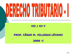 Procesal Tributario