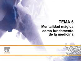 mentalidad mágica - StudentConsult.es