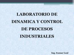 Clase 0 - Dinamica y control de Procesos