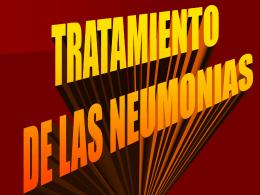 tratamiento de neumonias