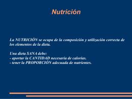 Trabajo NUTRICION_3ESO