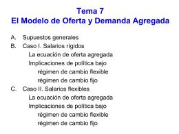 8. El modelo de ofer..