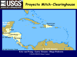 Proyecto Mitch-Clearinghouse