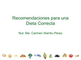 Dieta recomendable