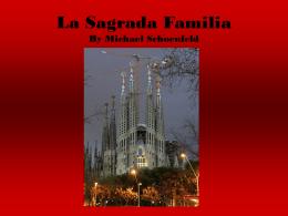 La Sagrada Familia - Courses.ncssm.edu
