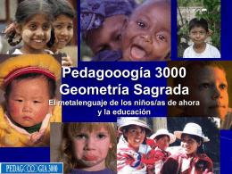 Geometría Sagrada - Pedagooogia 3000